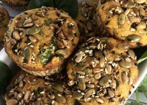 Sweet Potato & Herb Muffin