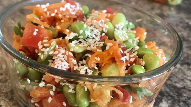 Easy Edamame Salad