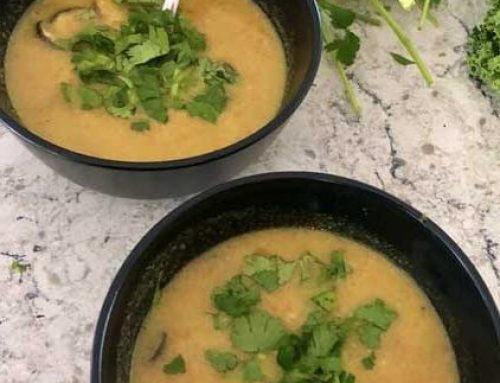 Lemongrass Carrot Soup