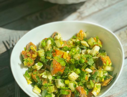 My Favorite Sweet Potato Salad