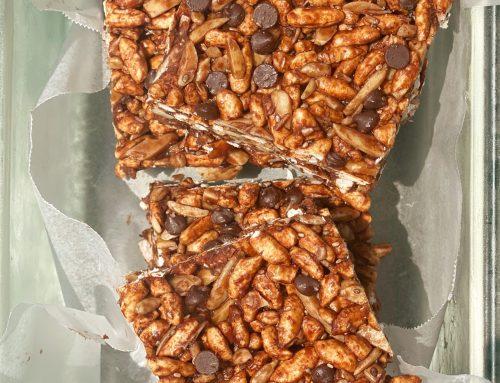 Super Chocolate Rice Crispy Bars